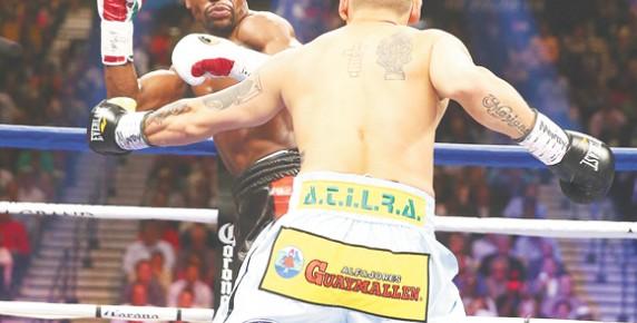 Boxing: Floyd Mayweather Jr. vs Marcos Maidana